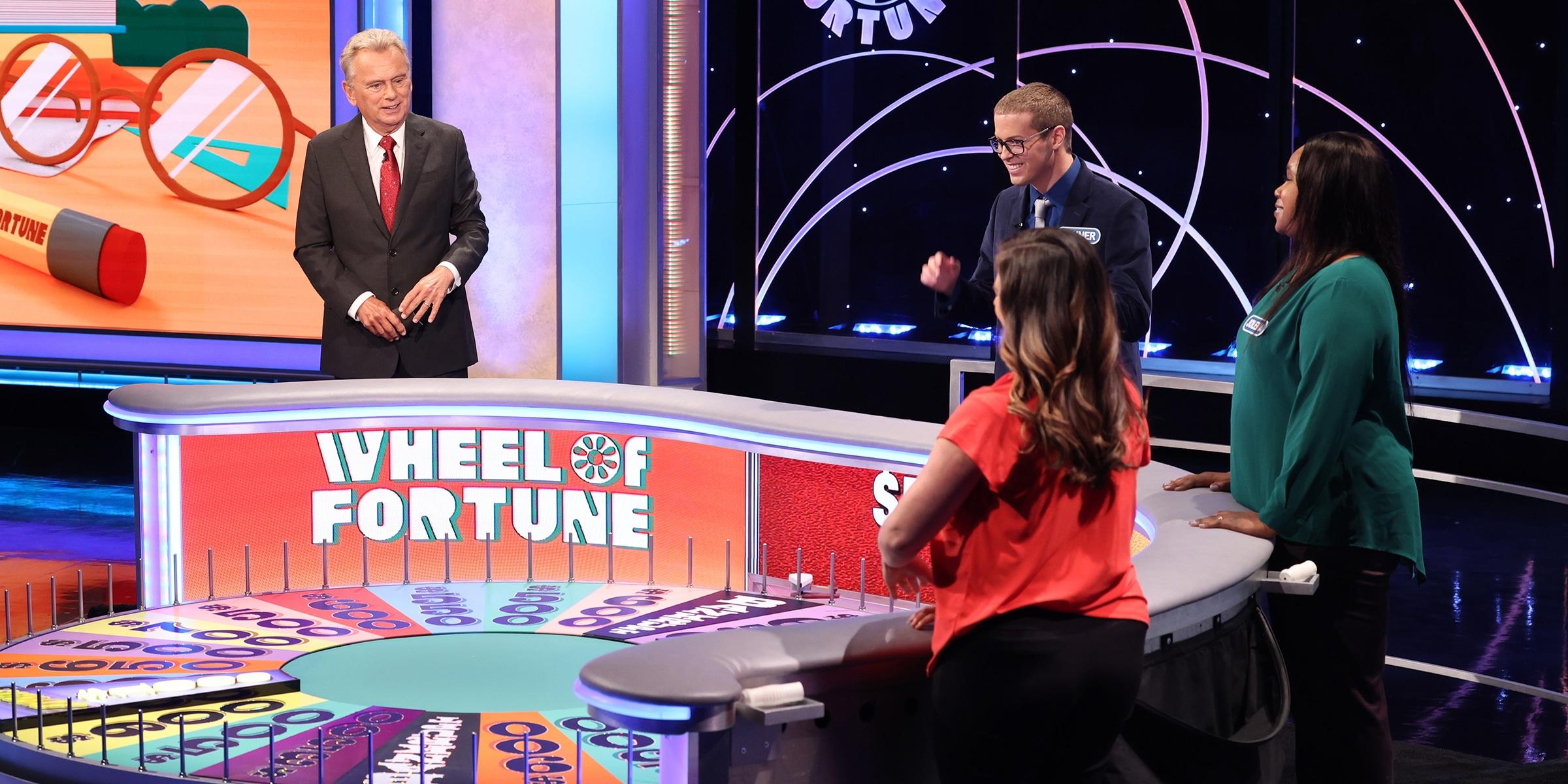 'Wheel of Fortune' contestants