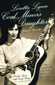 Loretta Lynn on the cover of Coal Miner's Daughter