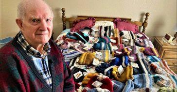 96-year-old Tom Cornish