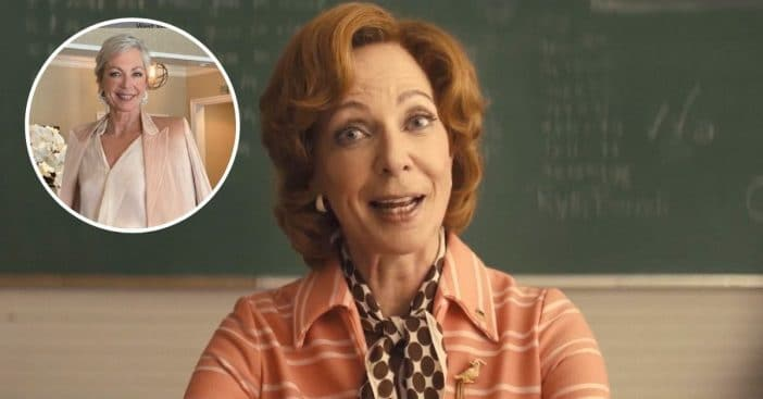 Allison Janney talks about freedom of gray hair