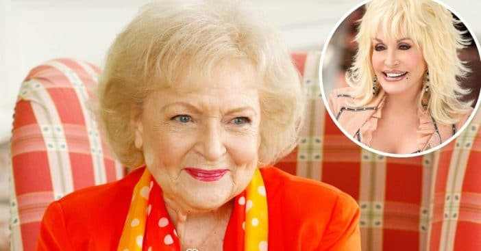 Betty White says her favorite country song is a Dolly Parton hit