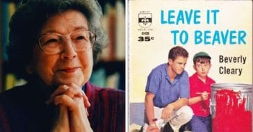 Beverly Cleary wrote Leave It to Beaver books