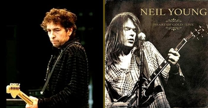 "Bob Dylan explains his thoughts on Neil Young's ""Heart of Gold"""