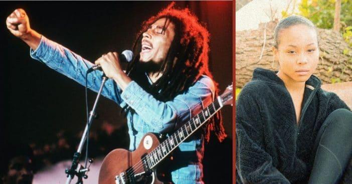 Bob Marley and Mystic Marley