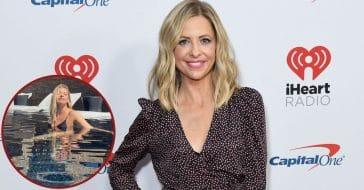 'Buffy's Sarah Michelle Gellar Stuns In Tiny Bikini Photo