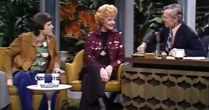 Carson launched into interviewing them both, where more comedic and charming banter ensued