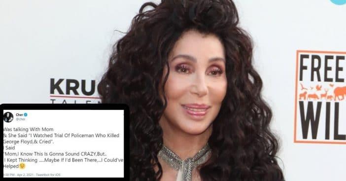 Cher Responds After Backlash About George Floyd Tweet