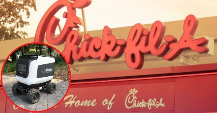 Chick-Fil-A Now Experimenting With Actual Robot Delivery Service Amid COVID-19 Pandemic