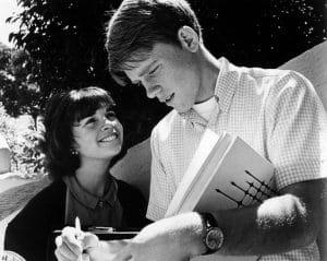 Cindy Williams, Ron Howard, 1973