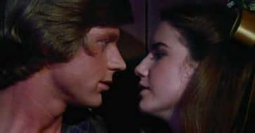 Dean Butler and Melissa Gilbert