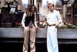 Diane Keaton and Woody Allen in 'Annie Hall'