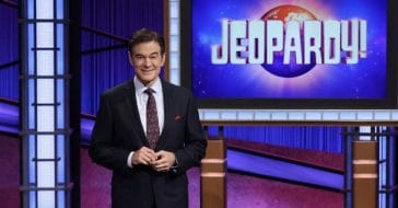 Dr. Oz on 'Jeopardy!'