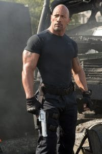 """Dwayne """"The Rock"""" Johnson in Fast and Furious"""