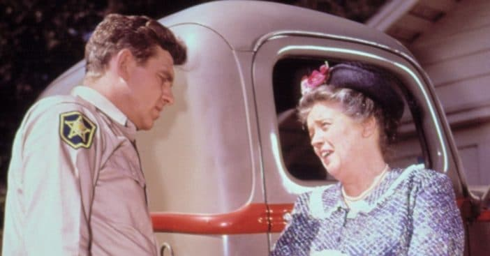 Frances Bavier was angry on the set of The Andy Griffith Show