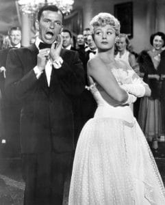 MEET DANNY WILSON, from left: Frank Sinatra, Shelley Winters, 1951, Hollywood