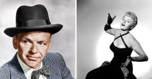 Frank Sinatra & Shelley Winters