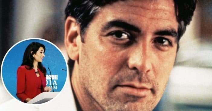 George Clooney joked about his wife watching ER