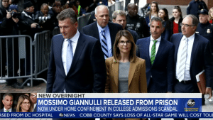Giannulli has been released from prison