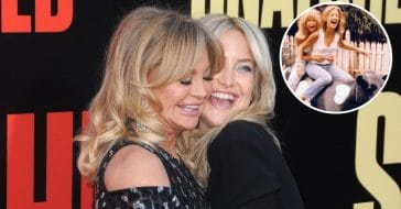 Goldie Hawn shares birthday message to daughter Kate Hudson