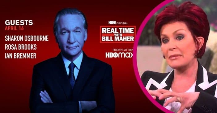HBO's Bill Maher lands Sharon Osbourne's first interview since leaving 'The Talk'