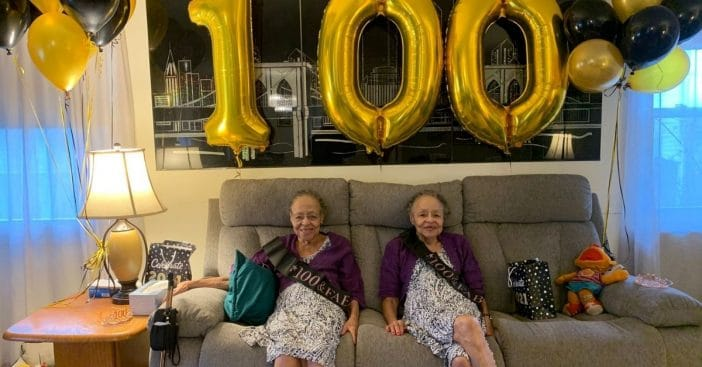 Elaine Foster and Evelyn Lowe
