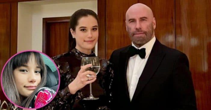 John Travolta's Daughter Ella Shows Off New Hairstyle In Rare Selfie
