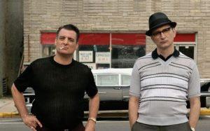 Joseph Siravo as Johnny Boy Soprano and Rocco Sisto as Junior Soprano