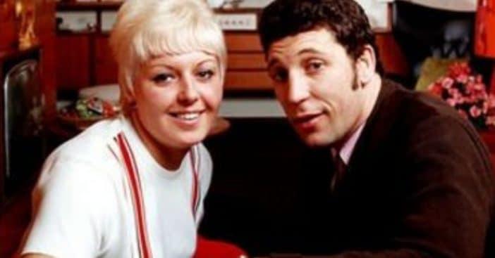 Linda Trenchard and Tom Jones
