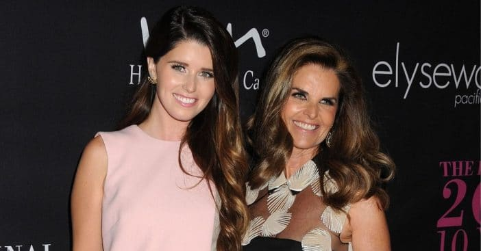 Maria Shriver talks about being a new grandma