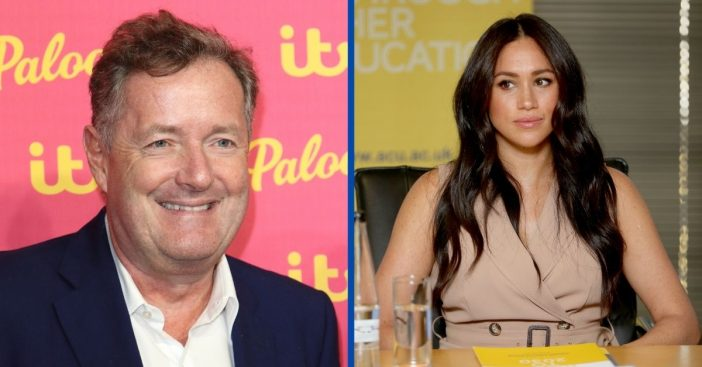 Meghan Markle Planning To Fight Back Against Piers Morgan After Comments