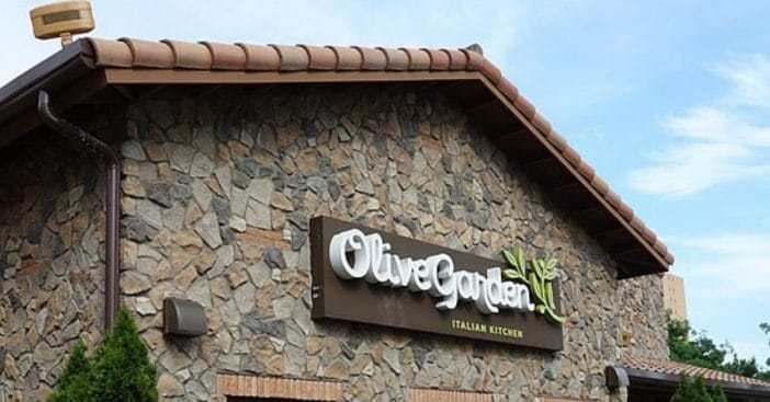 Olive Garden parent company being sued