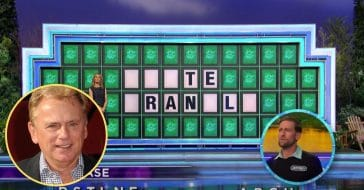 Pat Sajak Accidentally Gives Away Answer On 'Wheel Of Fortune'