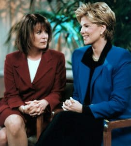 Patricia Richardson and Joan Lunden on Home Improvement