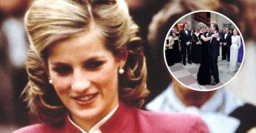 Princess Diana blushed while dancing with Neil Diamond
