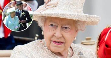 Queen Elizabeth was seen showing rare emotion