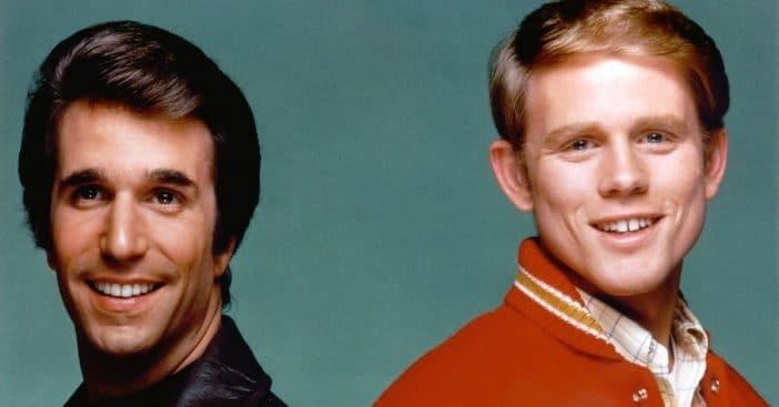 Ron Howard felt jealous of Henry Winkler