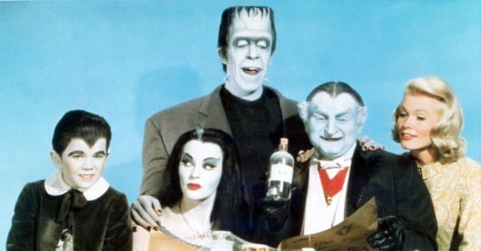 The Munsters started in color then filmed in black and white