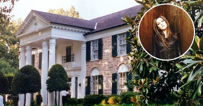 What changes at Graceland when Lisa Marie Presley comes to visit
