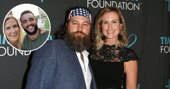 Willie and Korie Robertson talk about the adoption of their biracial son
