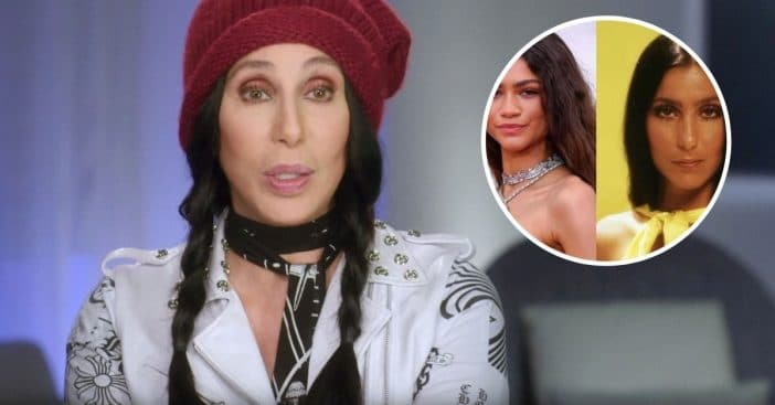 Zendaya paid tribute to Cher with outfit at Oscars