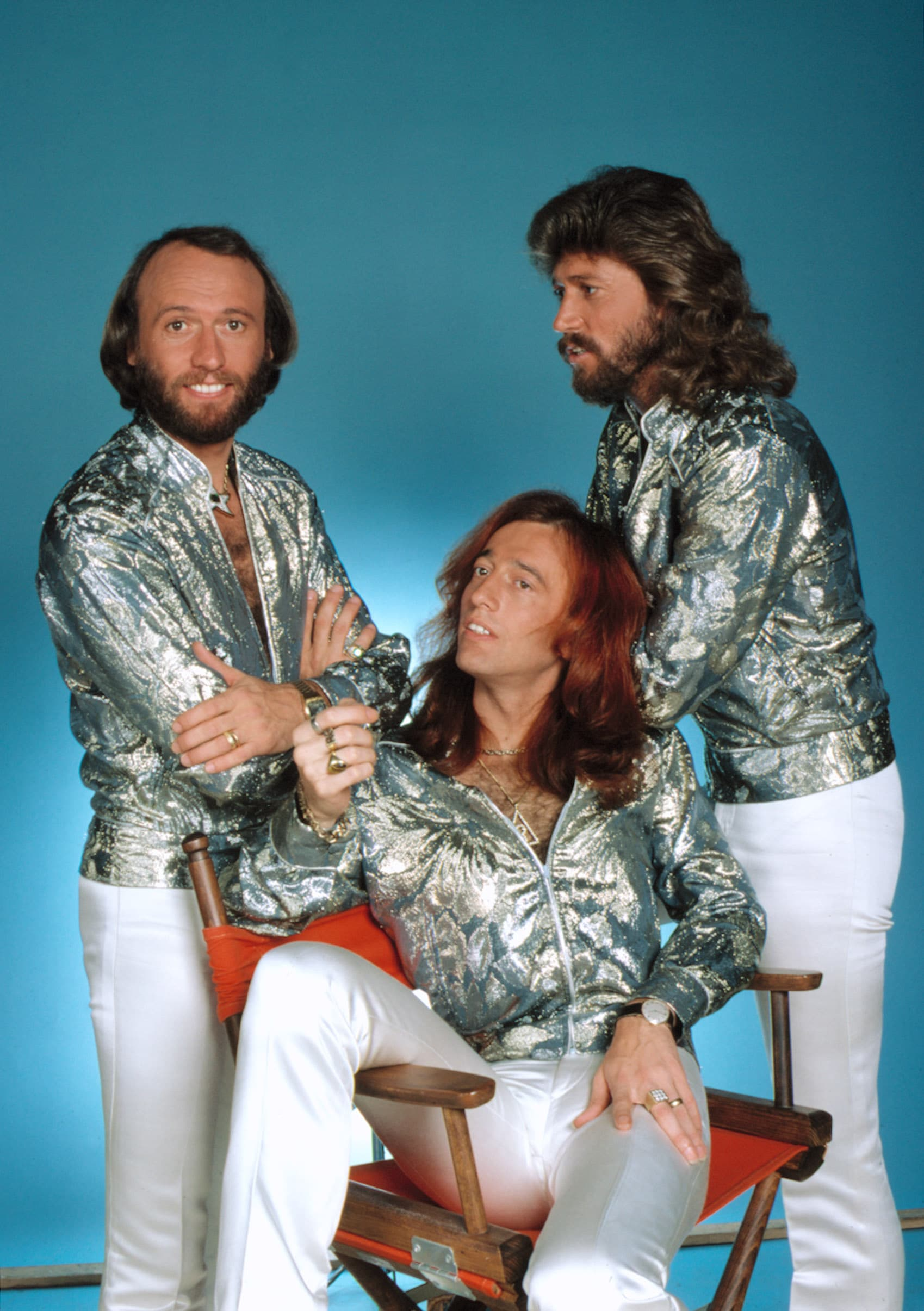 BEE GEES, (Maurice, Robin & Barry Gibb), circa 1978