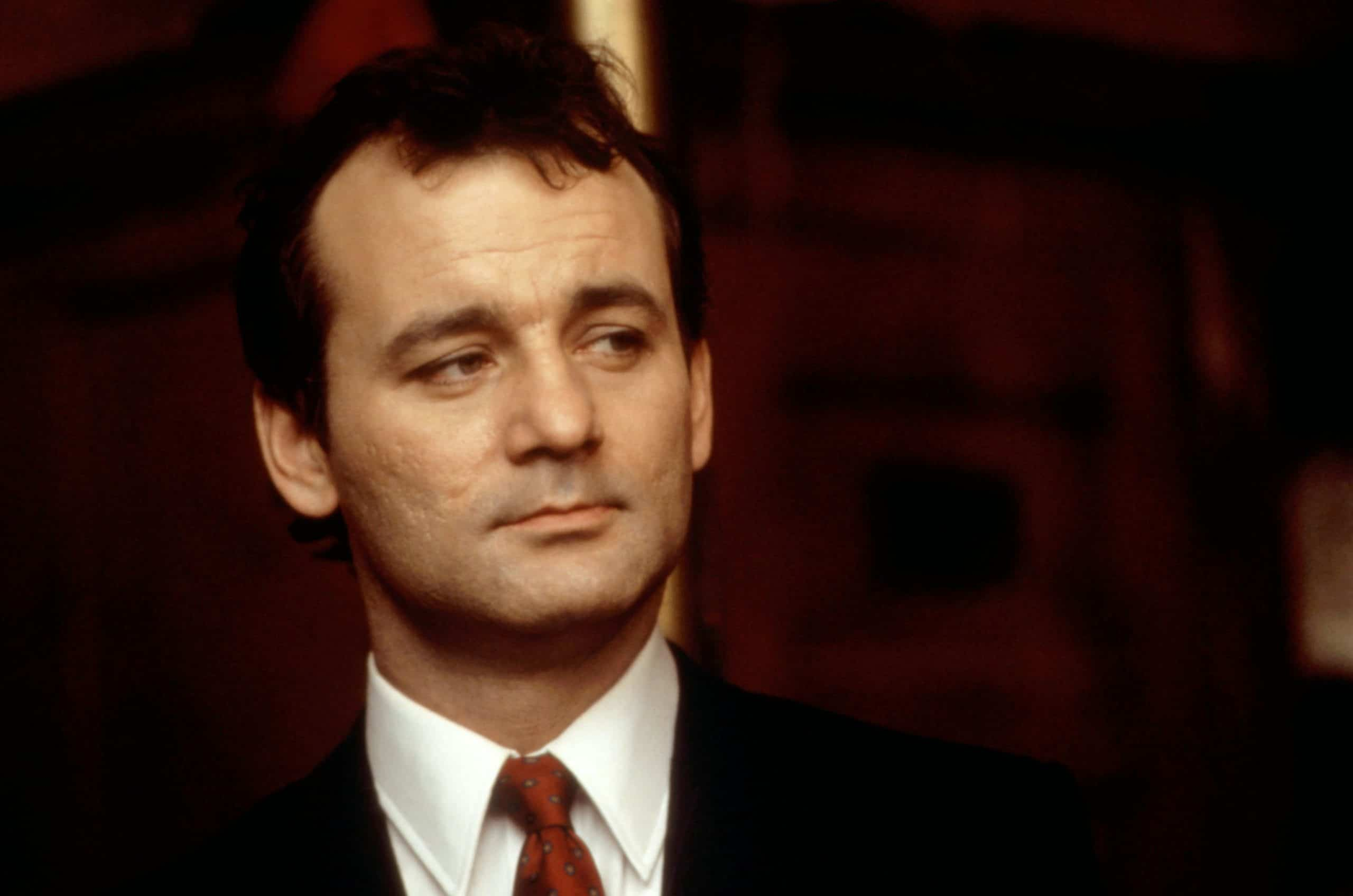 GHOSTBUSTERS II, Bill Murray, 1989 tricked into role