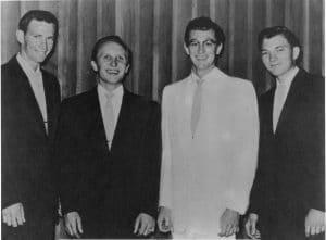The Crickets, (Joe Maudlin, Buddy Holly, Jerry Allison, Niki Sullivan), 1957
