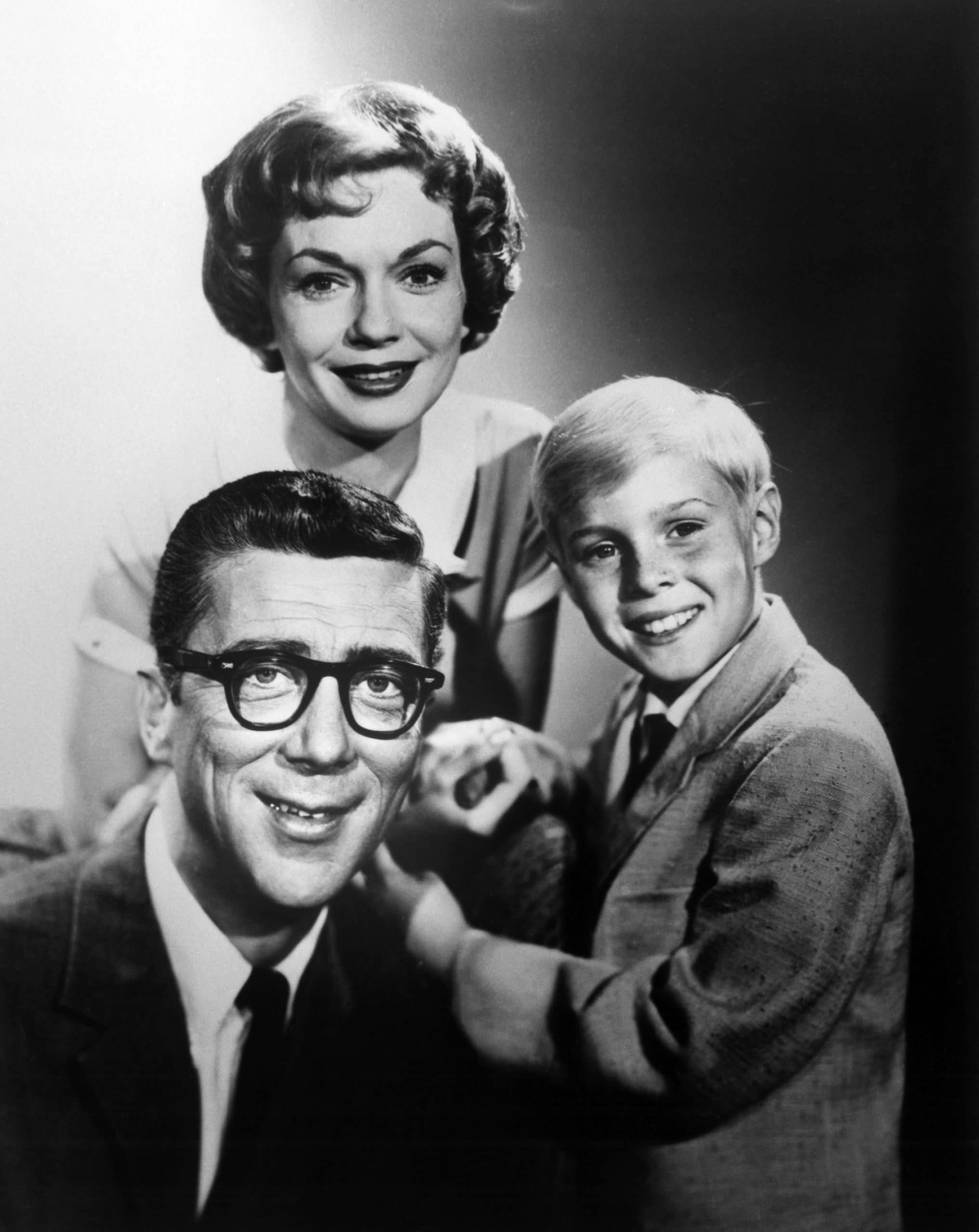 DENNIS THE MENACE, (clockwise from top): Gloria Henry, Jay North, Herbert Anderson