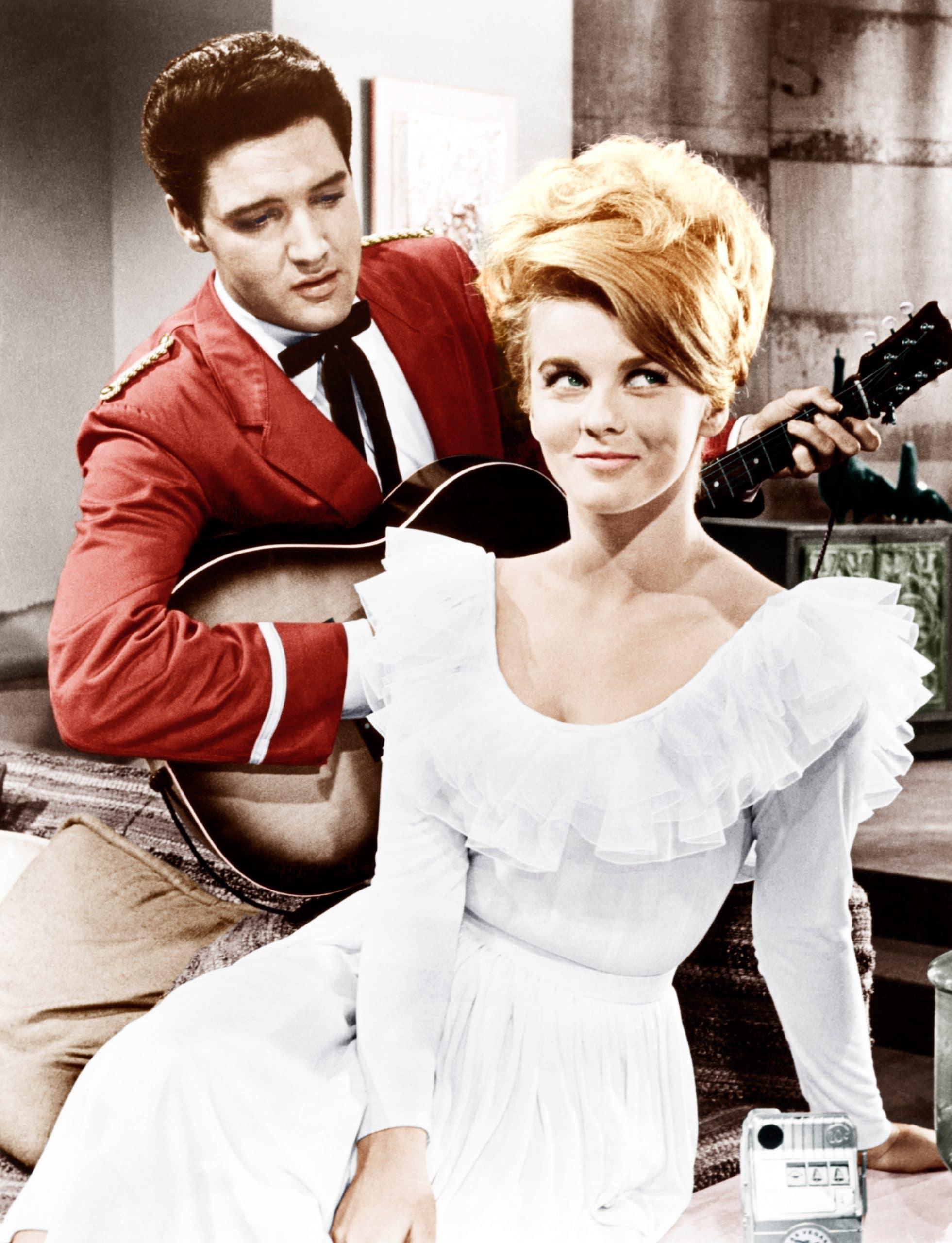 VIVA LAS VEGAS, from left: Elvis Presley, Ann-Margret, 1964