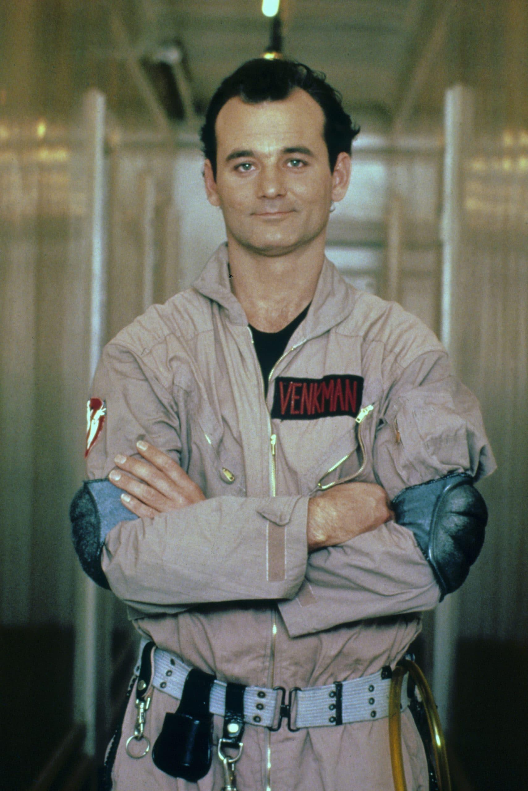 GHOSTBUSTERS, Bill Murray, 1984 dr peter venkman