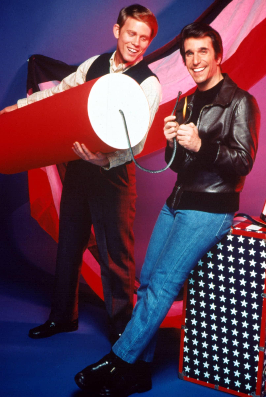 HAPPY DAYS, Henry Winkler, Ron Howard, television, 1974-1984