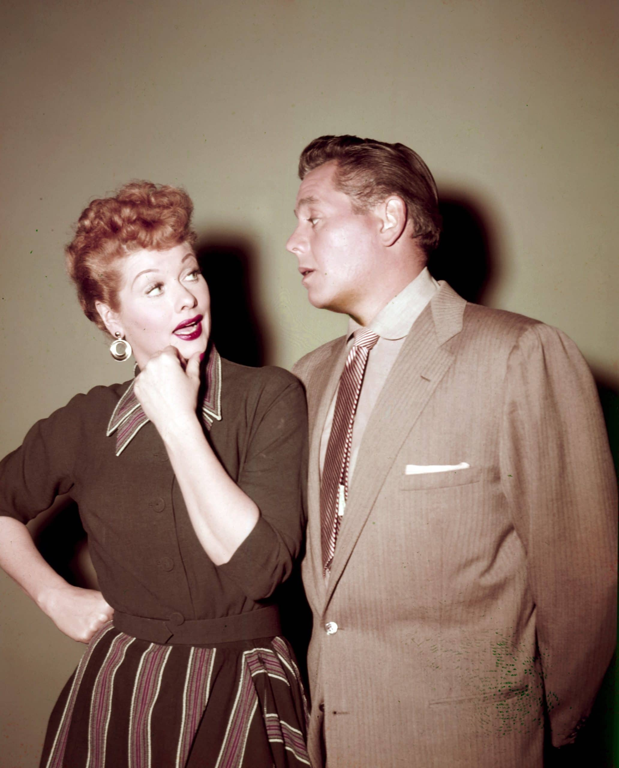 I LOVE LUCY, from left, Lucille Ball, Desi Arnaz, ca. mid-1950s