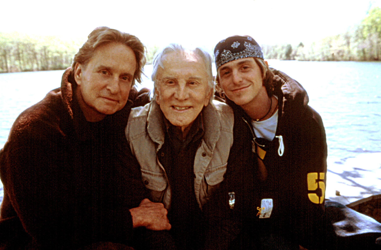 IT RUNS IN THE FAMILY, Michael Douglas, Kirk Douglas, Cameron Douglas, 2003