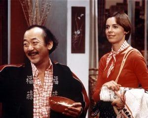 MR. T. AND TINA, Pat Morita, Susan Blanchard, 1976.